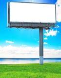Advertentie in paradijs Stock Afbeelding
