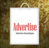 Advertise Royalty Free Stock Photos