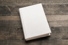 Advertise. Background blank book box brochure clean Royalty Free Stock Photography
