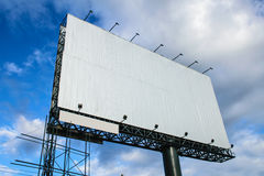 Advertise Board with Background Royalty Free Stock Image