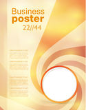 Advertise flyer business poster Stock Photo