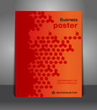 Advertise flyer business poster Stock Images