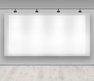Advertise here - blank advertising banner Royalty Free Stock Images