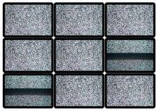 Advertise TV Panel Stock Photo