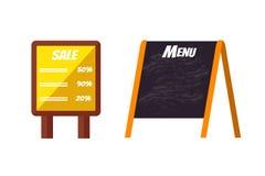 Advertisement billboard template vector Royalty Free Stock Image