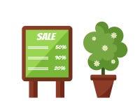 Advertisement billboard template vector Stock Image