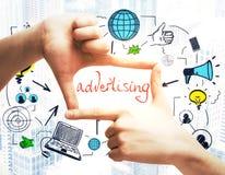 Advertisement concept