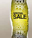 advertisement discount sale Στοκ φωτογραφία με δικαίωμα ελεύθερης χρήσης