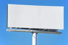 Advertisement panel Stock Photo