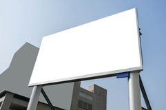 Advertisement Screen Royalty Free Stock Photo