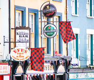Advertisement signs, Kenmare Royalty Free Stock Photography