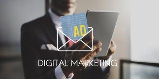 Advertisement Social Media Internet Letter Concept Stock Photo