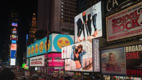 Advertisements, Architecture, Billboards Stock Image