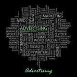 ADVERTISING. Stock Photos