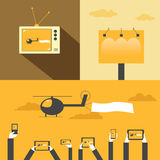 advertising illustration de vecteur