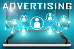 advertising illustration stock