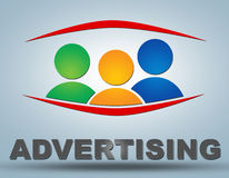 advertising illustration stock