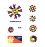 Advertising agency logo icon Stock Photo