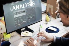 Advertising Analysis Branding Strategy Concept stock photos