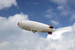 Advertising airship Royalty Free Stock Image