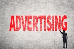 Advertising Royalty Free Stock Photo
