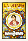 Advertising in azulejos of a winery, Sevilla Royalty Free Stock Images