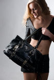 Advertising bags Royalty Free Stock Image