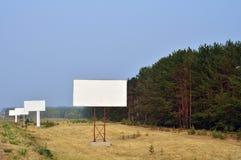 Advertising banner Stock Photo