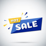 Advertising banner. Hot sale. Vector illustration. Stock Photo
