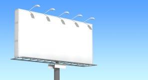 Advertising billboard Stock Image