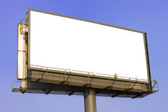 Advertising billboard Stock Photo