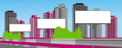 Advertising billboard Royalty Free Stock Image