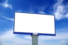 Advertising billboard Royalty Free Stock Photography