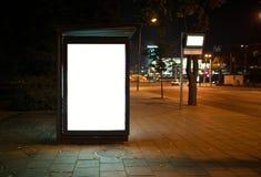 Advertising billboard Royalty Free Stock Photos