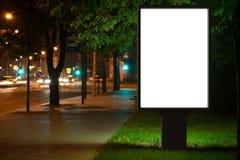 Advertising billboard stock images