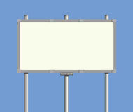 Advertising board Stock Image