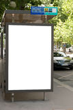 Advertising board stock photography