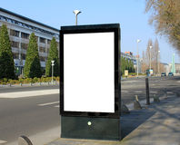 Advertising board Stock Images