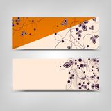 Advertising business vector background abstract orange cream royalty free stock images