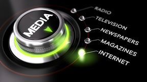 Free Advertising Campaign, Mass Medias Stock Photos - 49546993