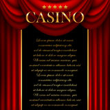 Advertising casino Royalty Free Stock Photography