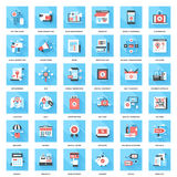 Advertising and commerce Royalty Free Stock Images