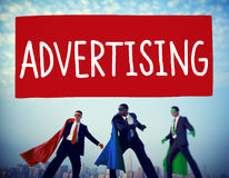 Advertising Commercial Marketing Strategy Promotion Concept Royalty Free Stock Photo