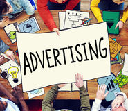Advertising Commercial Marketing Strategy Promotion Concept Stock Photo