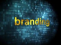 Advertising concept: Branding on digital Stock Photos
