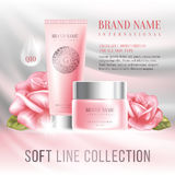 Advertising of cosmetics Royalty Free Stock Photo