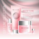 Advertising of cosmetics Stock Image