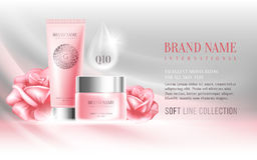 Advertising of cosmetics Stock Photography