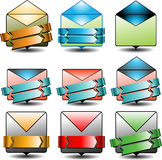 Advertising email icon Stock Photo