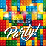 Advertising icon. Party and Celebration. Vector graphic Stock Images